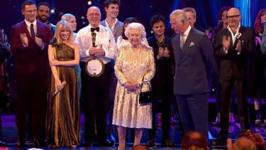 Les stars au rendez-vous pour fêter les 92 ans de la reine