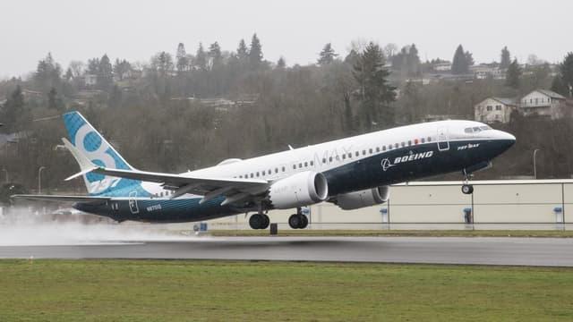 Le Boeing 737 MAX-8 a enregistré  a enregistré une commande tardive de 75 avions