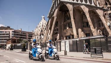 Déjà présent en France et en Italie, Cityscoot a remporté l'appel d'offre de la mairie de Barcelone