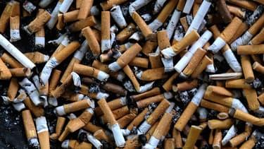 Des mégots de cigarette (photo d'illustration)