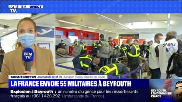 La France envoie 55 militaires à Beyrouth (2) - 05/08