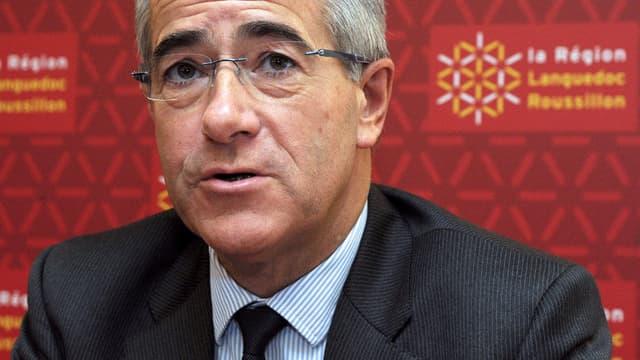 Christian Bourquin, le 19 décembre 2012 à Montpellier.