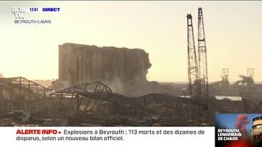 Liban: les images du port de Beyrouth dévasté par les deux explosions