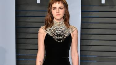 Emma Watson lors de la 90e cérémonie des Oscars