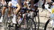 Le coureur de la Quick Step Sylvain Chavanel sur le dernier Tour des Flandres.