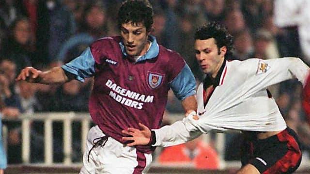 Slaven Bilic avec West Ham en 1996-1997