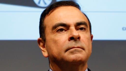 Carlos Ghosn, patron de l'alliance Renault-Nissan.