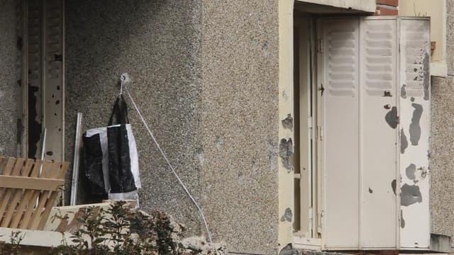 L'immeuble où a été tué Mohamed Merah, à Toulouse. Lors de sa garde à vue dans la ville rose, Abdelkader Merah, désormais entendu au siège de la Direction centrale du renseignement intérieur (DCRI), à Levallois-Perret, dans la banlieue de Paris, s'est déc