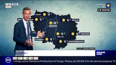 Météo Paris-Ile de France du 9 juin: Ciel bleu et soleil en perspectives