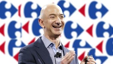 Jeff Bezos, le patron d'Amazon, peut sourire. Son groupe vaut désormais 320 milliards de dollars, soit 117% de plus qu'il y a un an.