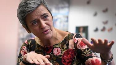 La commissaire européenne à la Concurrence Margrethe Vestager.