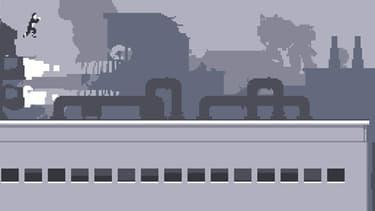Capture d'écran du jeu vidéo Canabalt