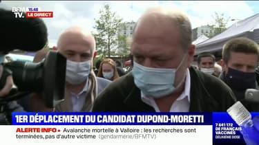 """Éric Dupond-Moretti: """"Le Front national est, pour moi, un véritable danger pour la démocratie"""""""
