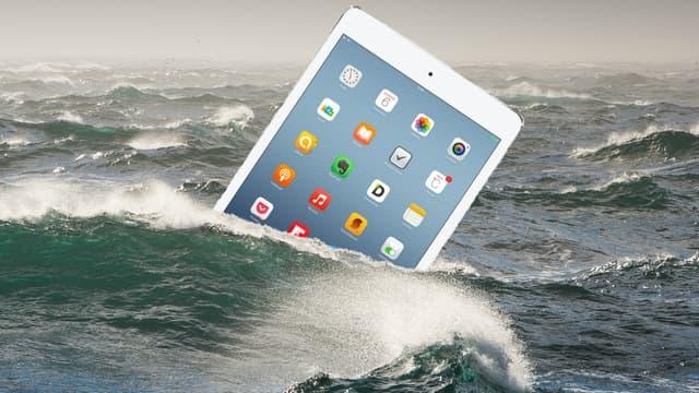 La chute des ventes d'iPad est violente depuis 2013 et devrait se poursuivre en 2016.