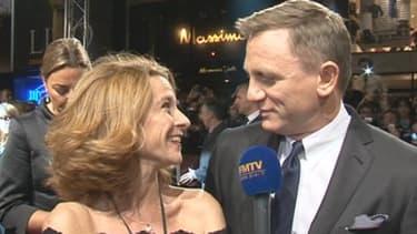 """Daniel Craig trouve les Françaises """"très bonnes actrices"""", a-t-il confié à BFMTV."""