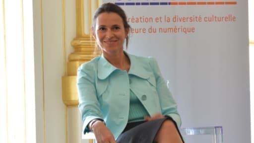 """""""On n'est pas là pour couper des têtes"""", a déclaré la ministre de la culture Aurélie Filippetti"""