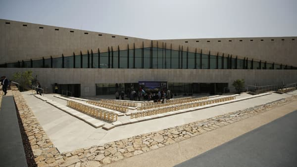 Photo du musée palestinien, prise à Bir Zeit le 17 mai 2016.
