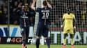 Blaise Matuidi et Zlatan Ibrahimovic