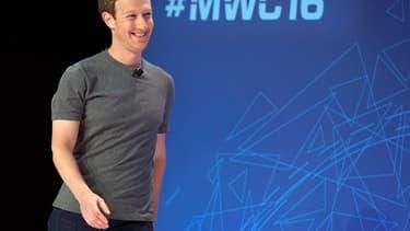 Mark Zuckerberg a fait une apparition très remarquée au MWC de Barcelone.
