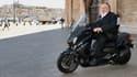 L'acteur Gérard Depardieu à Marseille pour le tournage de la nouvelle série Netflix.