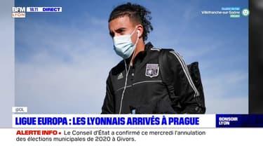 Ligue Europa : les Lyonnais sont arrivés à Prague