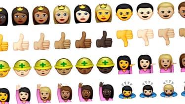 Les nouveaux emoji d'Apple font la part belle à la diversité culturelle.
