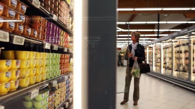 Les prix des produits alimentaires ont connu un léger rebond