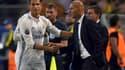 Cristiano Ronaldo et Zinedine Zidane
