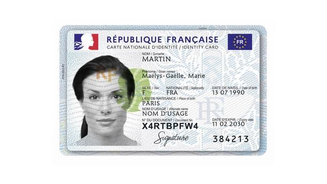La nouvelle carte d'identité biométrique