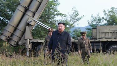 Kim Jong Un le 10 septembre 2019