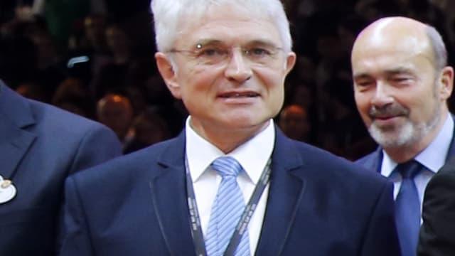 Alain Béral, président de la LNB