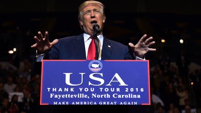 Donald Trump a vanté les effets de son élection sur l'économie américaine.
