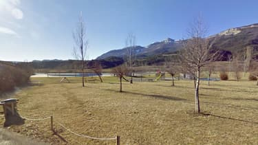 Le point d'eau de la Germanette, à Serres dans les Hautes-Alpes.