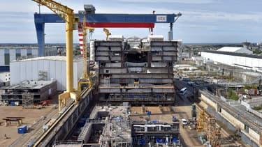 Le groupe naval DNCS n'exclut pas de prendre une participation minoritaire dans les chantiers navals STX.