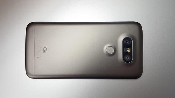 Le LG G5 et sa coque en aluminium