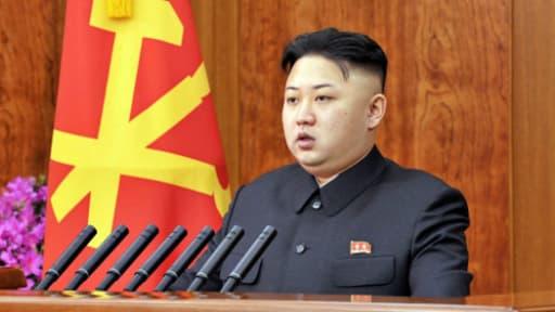 Kim Jong-un l'actuel dirigeant du pays.