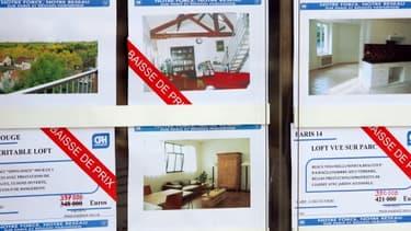 Une agence immobilière londonienne fournit des descriptifs sans complaisance des biens à louer.