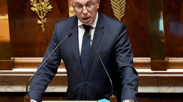 Le député Les Républicains et maire de Nice Eric Ciotti, le 7 octobre 2019 à l'Assemblée nationale