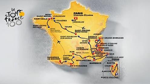 La course partira pour la première fois de Corse, le 29 juin.