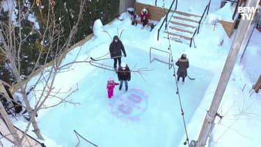 Avoir une patinoire dans son jardin devient tendance au Québec