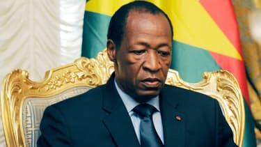 Le président du Burkina Faso, Blaise Compaoré, le 26 juillet 2014.