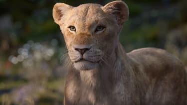 Nala dans Le Roi Lion (2019).