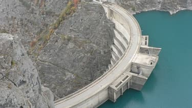 Barrage de Monteynard, en Isère