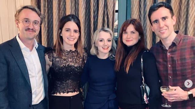 Les stars d'Harry Potter réunies