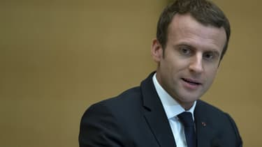 Emmanuel Macron lors de la Conférence nationale des Territoires au Sénat le 17 juillet 2017.