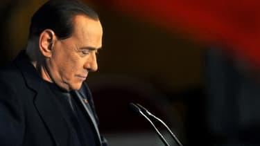 Silvio Berlusconi le 27 novembre 2013.