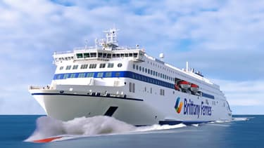 Navire hybride de Brittany Ferries