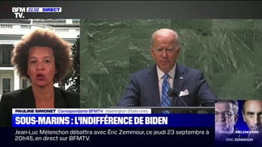 À l'ONU, Joe Biden ignore le conflit diplomatique en cours avec la France