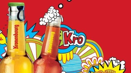 """En février, l'entreprise lançait la """"K"""", une bière fruitée pour les jeunes."""