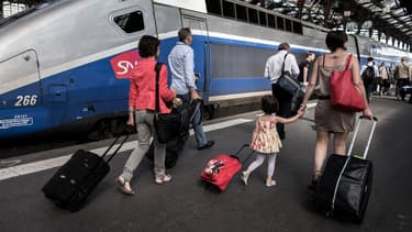 La Gare de Lyon, à Paris, en 2016. -